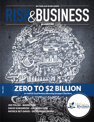 Third Issue of McFarlan Rowlands Risk & Business Magazine is