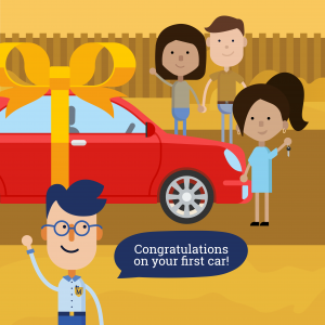 Just bought your first car? Congratulations! Here is everything you need to know before you hit the road.